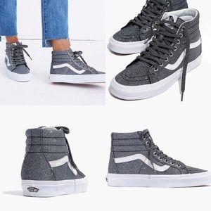 Vans + Madewell  SK8-Hi Reissue High-Top Sneakers